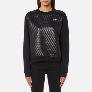 Love Moschino Quilted Crewneck NWT Size 2